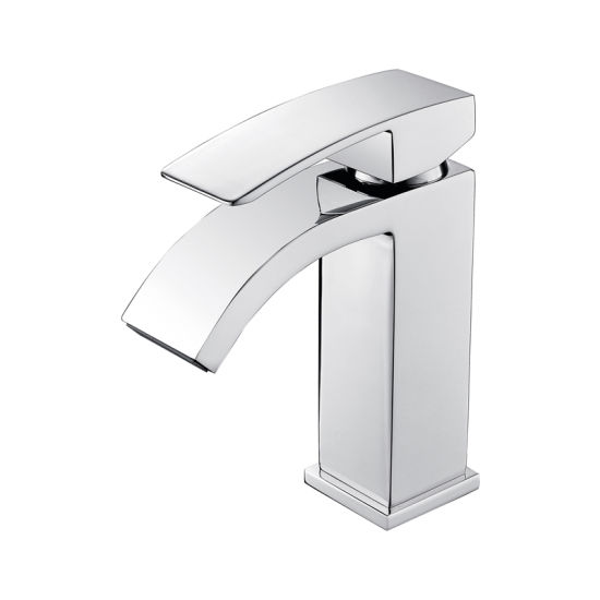 Luolin Bathroom Basin Faucet Sink Tap Lead Free Brass Hand Wash Lavatory Vanity, Chrome 579-8