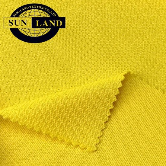 Waterproof China Factory 100% Polyester Knit Twill Mesh Ice Hockey Suit Fabric pictures & photos