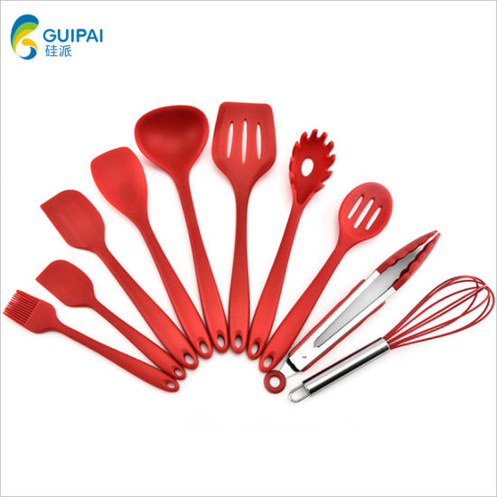 Silicone Heat Resistant Kitchen Cooking Utensils Non-Stick Baking Tool