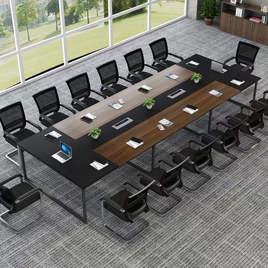 China Manufacturer Office Furniture Simple Student Meeting Training Table