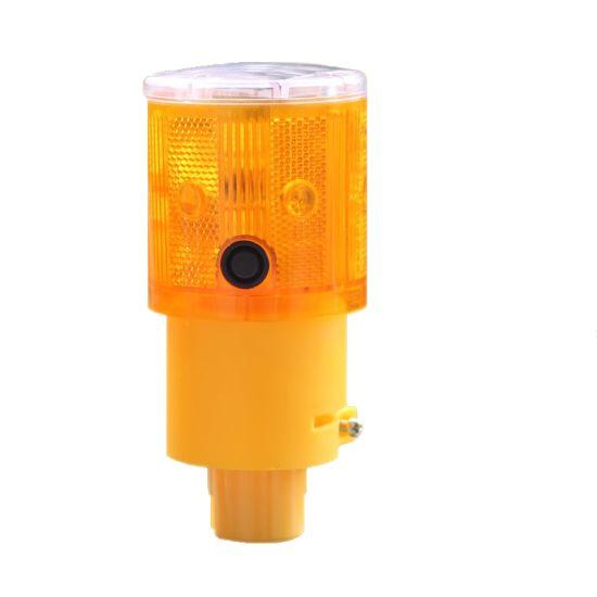Solar LED Barricade Light Strobe Signal Flasher