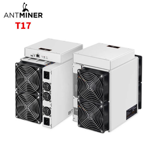 Bitmain Antminer T17 with High Hashrate 40th/S, Bitcoin Miner T17, Lower Power 2200W