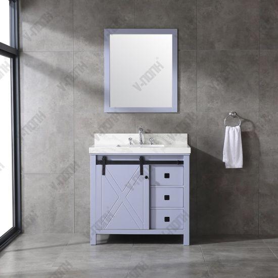 Unique Color Bathroom Vanity Cabinet