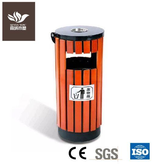 Outdoor Eco-Friendly Damproof WPC Dustbin