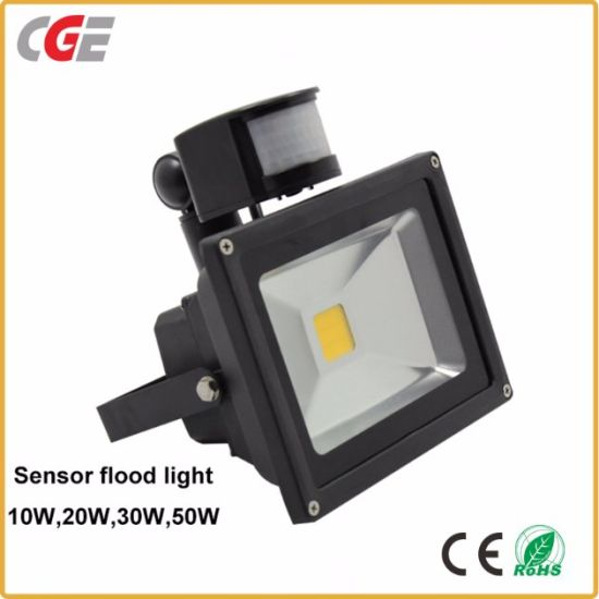 20W//30W//50W PIR LED FLOODLIGHT MODERN SECURITY FLOOD LIGHT MOTION SENSOR OUTSIDE