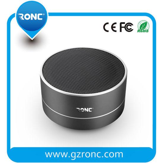 Factory Direct Sale Portable Mini Speaker Aluminum Bluetooth Speaker
