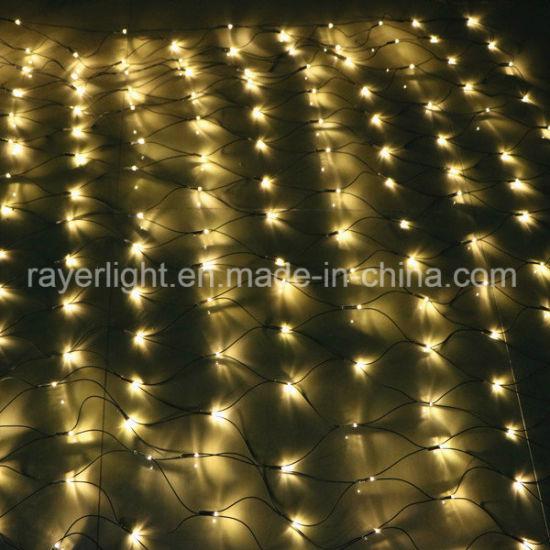2X1m Outdoor LED Net Curtain Light Garden Decoration Mesh Lights