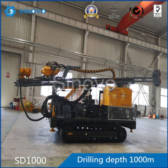 SD1000 High Efficiency Full Hydraulic Crawler Core Drilling Rig