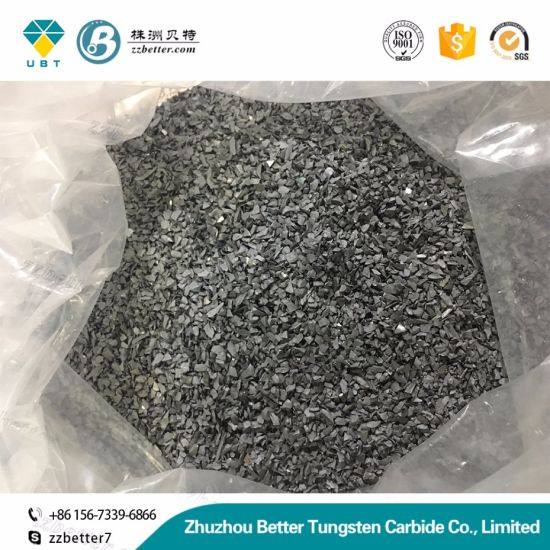 China Tungsten Carbide Grit Made in Recycle and Crush Scrap