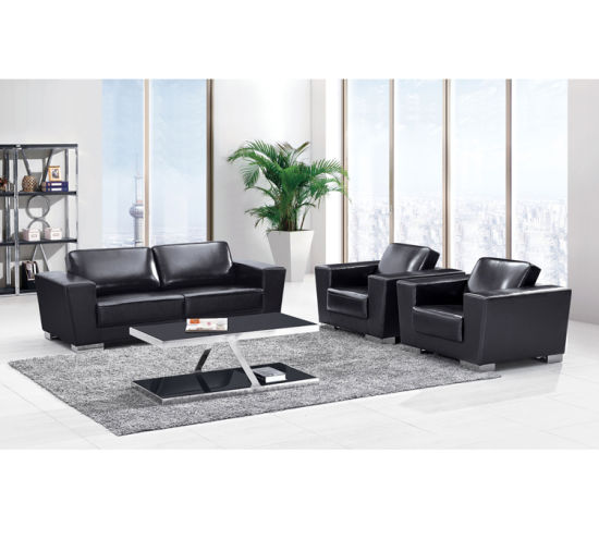 Luxury Type CEO Room Office Sofa with Top Leather Finished ...