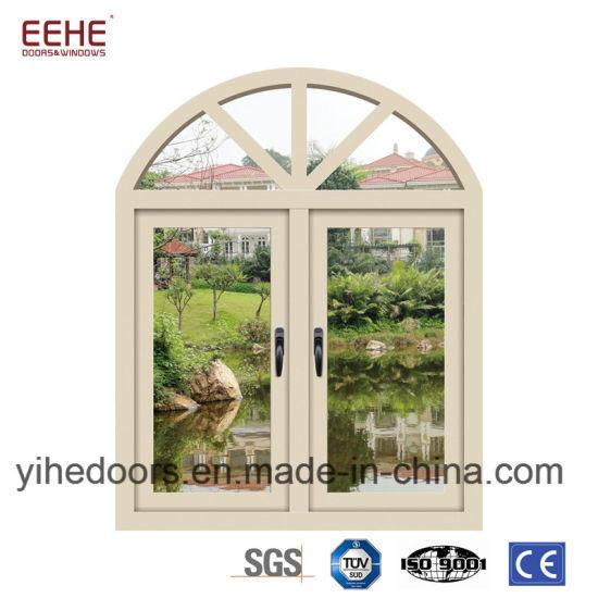 French Style Aluminium Windows And Doors Round Glass Windows China