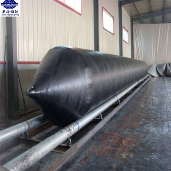 BV Certificate Pneumatic Rubber Ship Launching Airbag for Sale