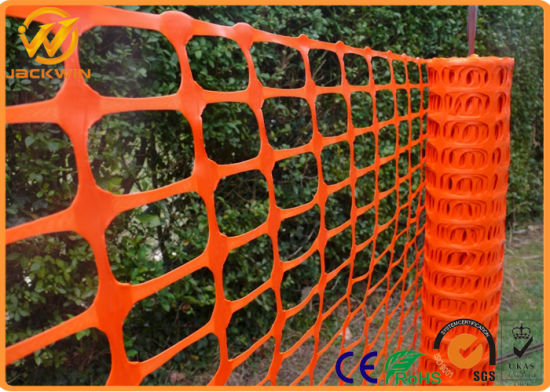 Safety Barrier Fence, Orange Plastic Safey Fence pictures & photos