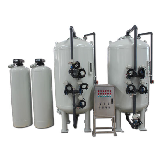 Continuous Backwash Automatic Sand Carbon Filter for Cooling Water Treatment