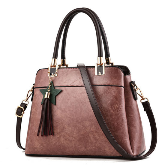Bulk Wholesale Lady Bag Woman Crossbody PU Leather Tote Bag pictures & photos