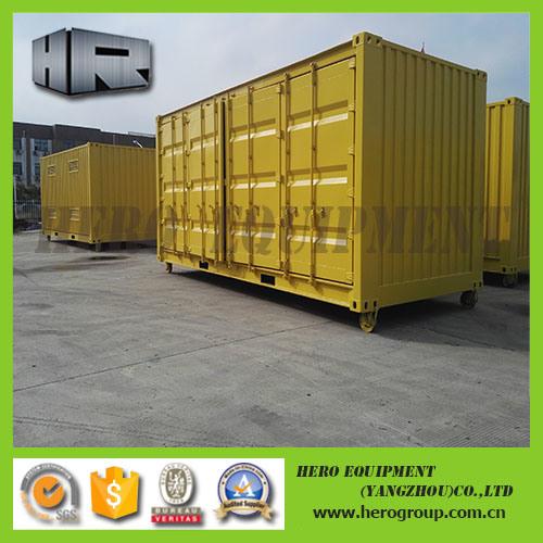 Side Open Door Open Top Container