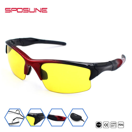 China Anti-Scratch Dustproof Sports Solbriller Best Sport Glasses ...