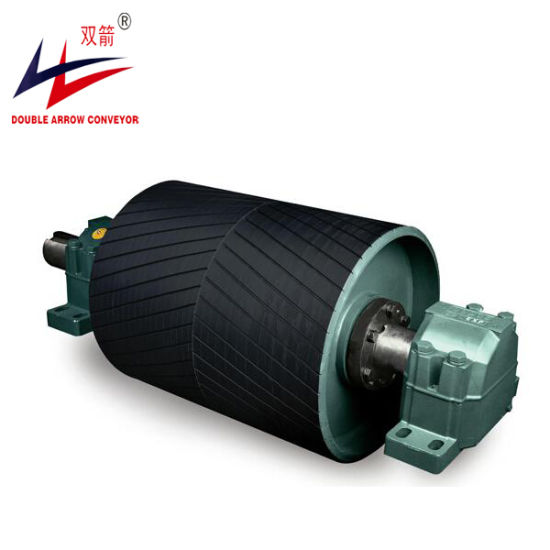 Flat Pulley Drive and Tail Rubber Drum Pulley for Conveyor System pictures & photos