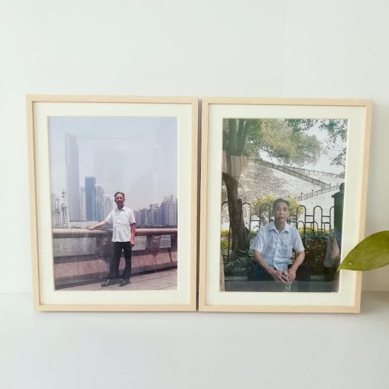China Aluminum Wooden Photo Frame for Family Pictures Wholesale ...
