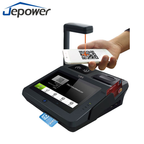 Jepower Jp762A Android OS Smart Barcode POS pictures & photos