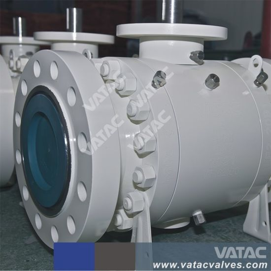 Cast & Forged Trunnion Ball Valve with Electric Actuators pictures & photos