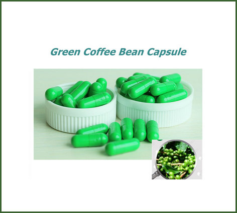 Green Coffee Bean Capsule 500mg China Green Coffee Green Coffee