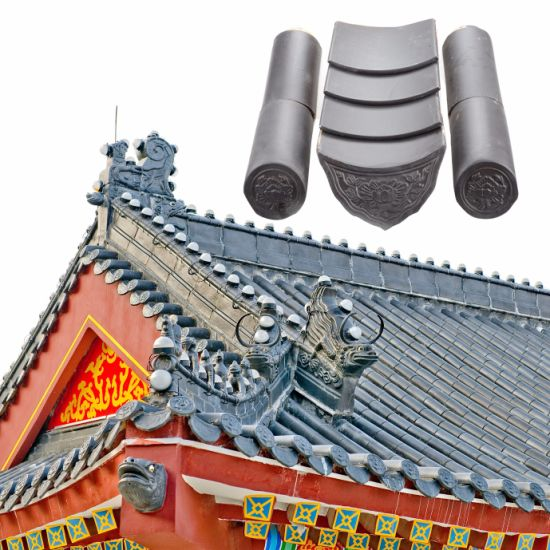 Cheap Temple Roofing Materials Ceramic Chinese Clay Roof Tiles ...