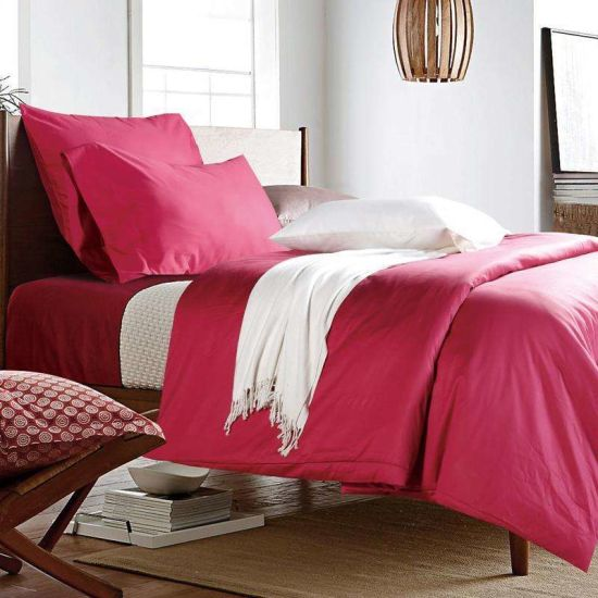 Low Price 100% Cotton Comfortable Bed Linen Bed Sheet For Sale (JRD675)