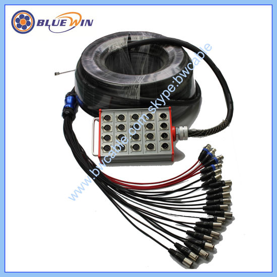 China Dual Channel XLR Cable Stage General Retractable Cable