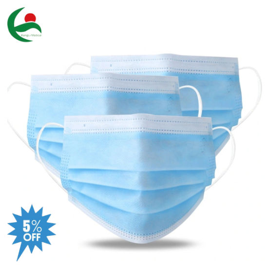 Manufacture Medical Surgical Disposable 3 Ply Facial Face Anti-Virus Protective Mask for Adults and Children