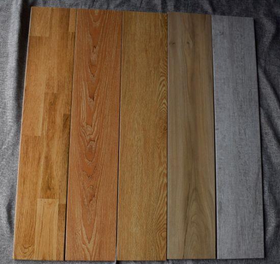 Philippines Price From Foshan For Balcony Outdoor Wooden Texture Floor  Tiles (150 * 800 Mm)