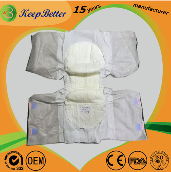 Free Samples Adult Diaper Disposable Disposable Wholesale Good Quality Adult Pants Diaper with Best Price pictures & photos