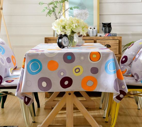 Top Seller New Model Colorful Cotton Table Cloth