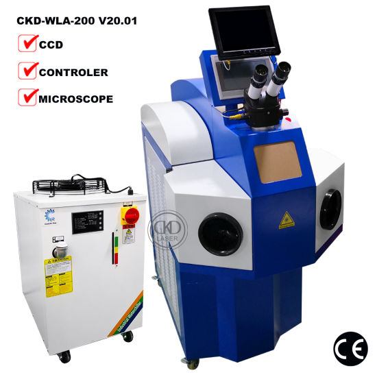 Industry Jewelry Tools Laser Welding Machine for Silver Chain Soldering