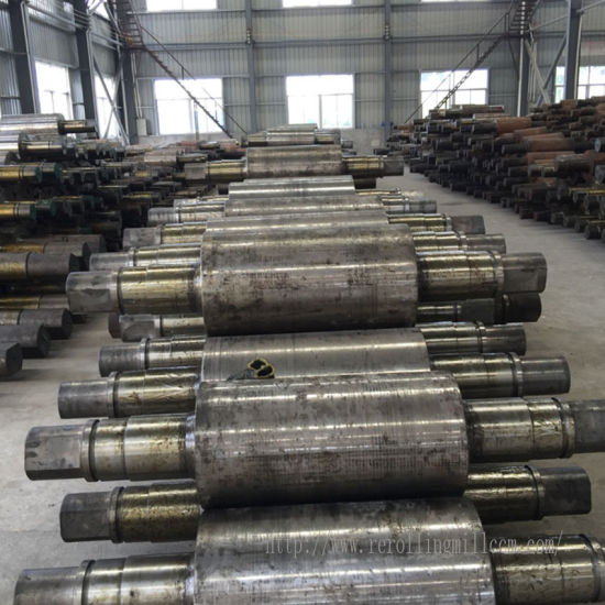 Rolling Mill Rolls High Quality Steel Roller for Industrial