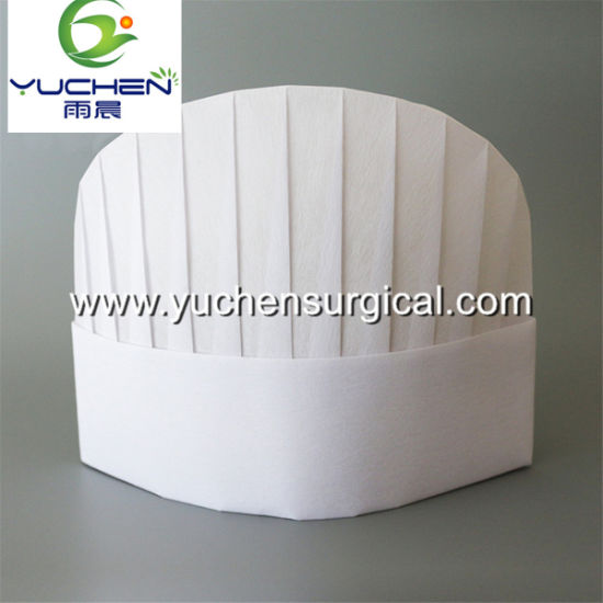 Customized Disposable Nonwoven Chef Hat for Kitchen