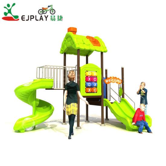 Ejplay High Quality Plastic Slide Indoor and Outdoor Preschool Kids Playground Equipment Toys Kids Amusement Park Slide Playground