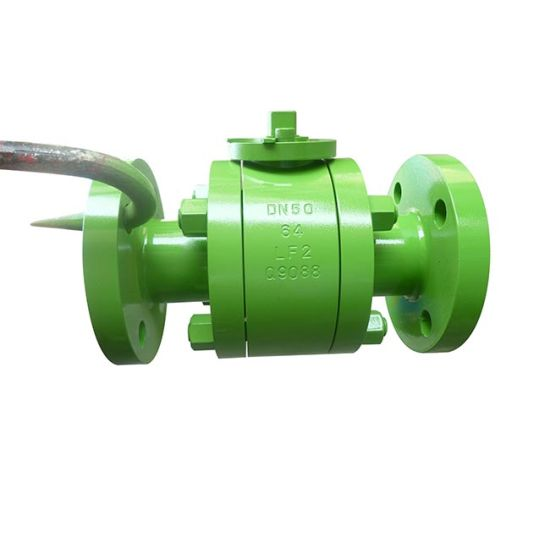 Forged Steel Lf2 Ball Valve for Low Temperature Working Medium