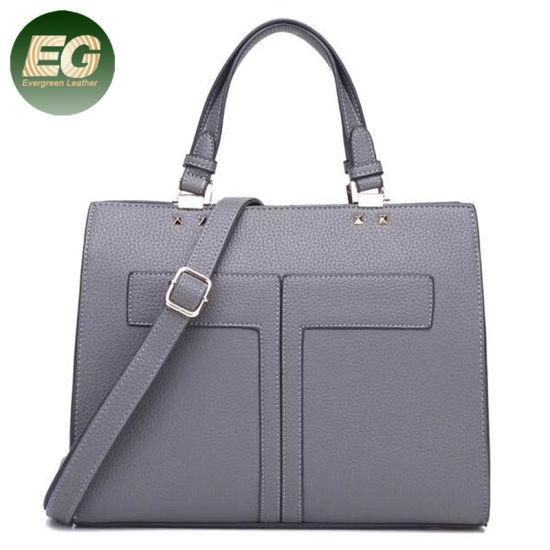 High Quality PU Women Handbags Big Tote Bag Wholesale Sh557