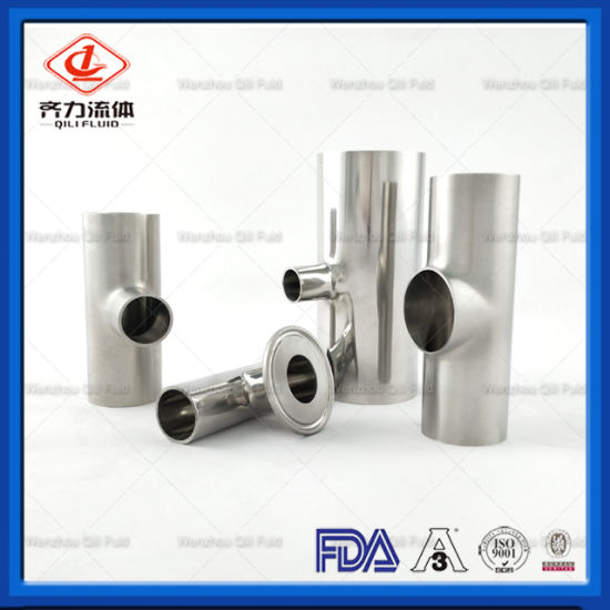 Sanitary Stainless Steel Tri-Clamp Weld Pipe Fitting