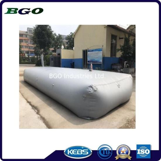 TPU Polyether Tarpaulin Water Tank 4000L Food Grade Water Pillow for Desert