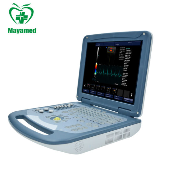 Direct Sale Medical Ecograph Laptop Notebook Portable Color Doppler Ultrasound Scanner pictures & photos