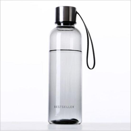 500ml Plastic PC Tritan Sports Water Bottle BPA Free (DC-PG500)
