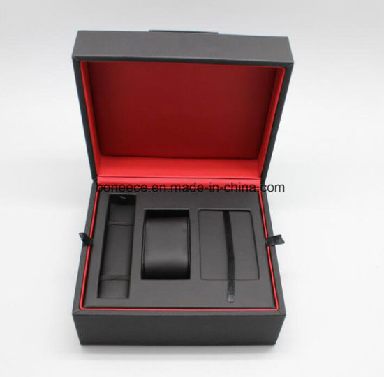 Single Watch Box 1 Extra Large Wood Removable Cushion For Display