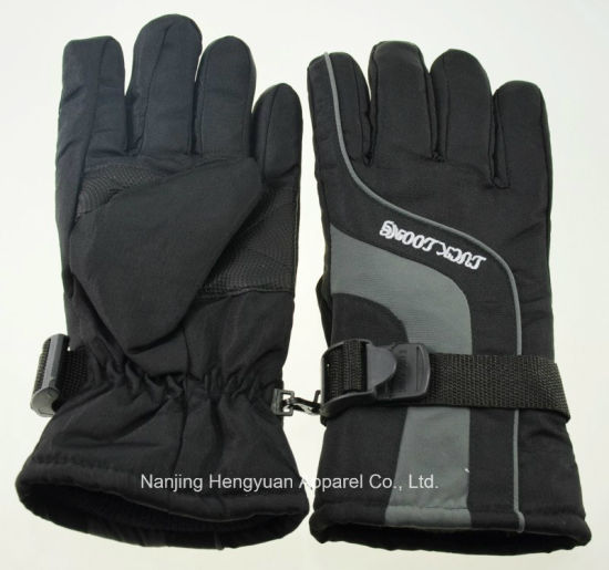 Fashion Skiing Motorcycle Gloves for Adults (HY17082502) pictures & photos