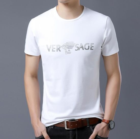 Wholesale Cotton Fabric Printing T-Shirt for Man