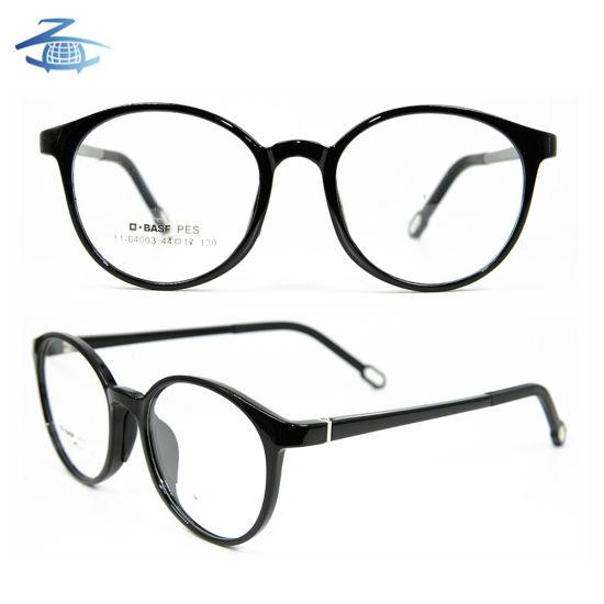 0015997379e Latest Model Design Tr90 Light Kids Eyewear Double Colours Optical Glasses  Frames for Teenagers