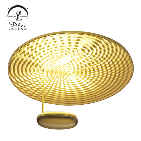 Modern Decorative Round Creative Gold LED Ceiling Lamp pictures & photos