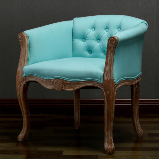 French Solid Wood Carved Dining Chair, Carved Wooden Indian Furniture
