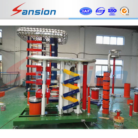 High Voltage Impulse Voltage Generator for Lightning Impulse Full Wave Testing pictures & photos